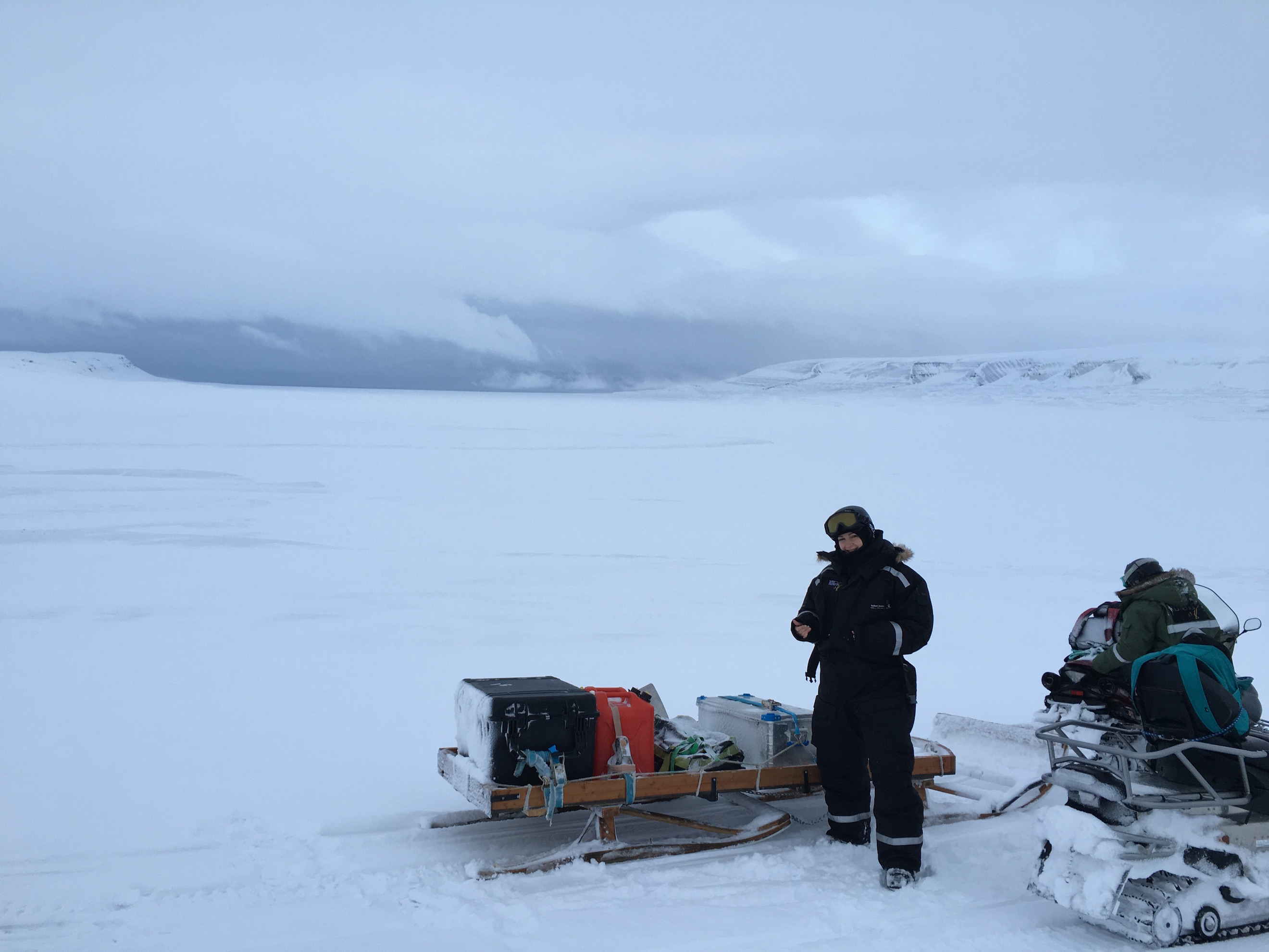 Svalbard expedition to Mohnbukta - east coast